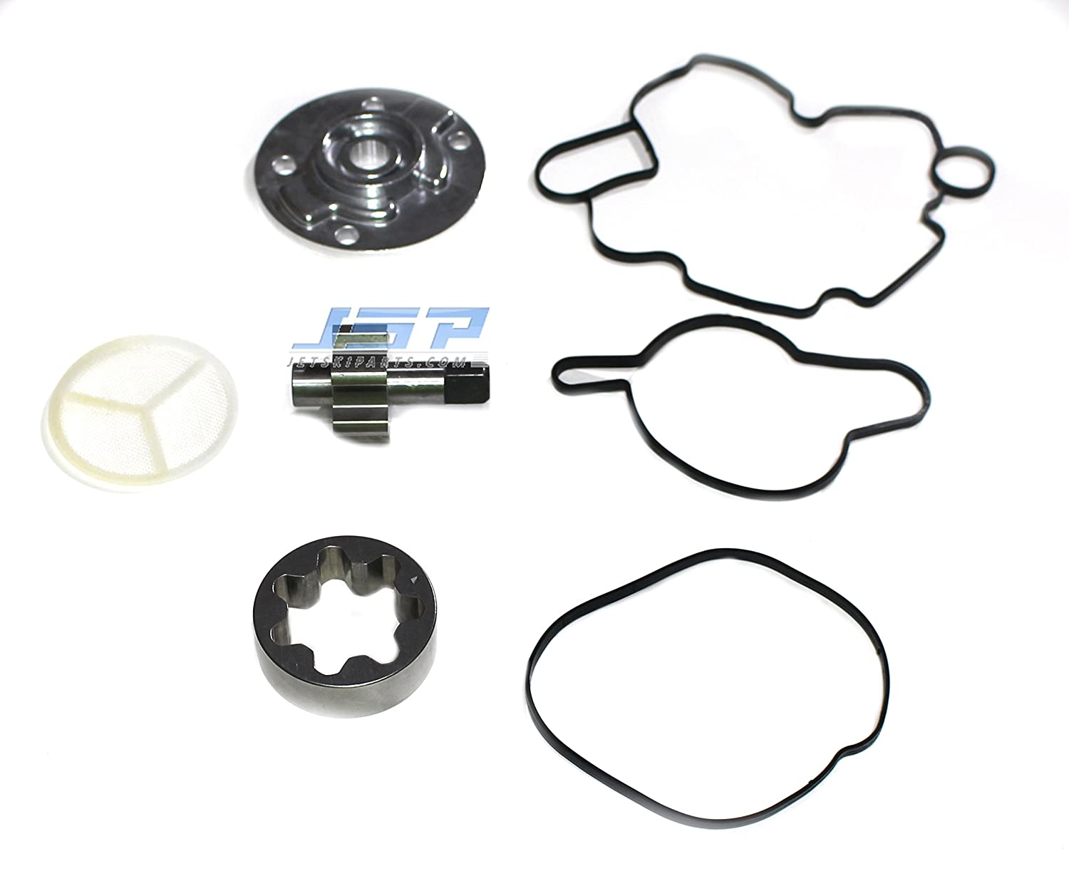 New Front Oil Pump Rebuild Kit Compatible with SeaDoo 4-Tec Secondary 05 RXT GTX SCIC 04-05 RXP