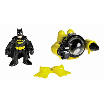 Fisher-Price Imaginext DC Super Friends, Batman & Sub: Toys & Games