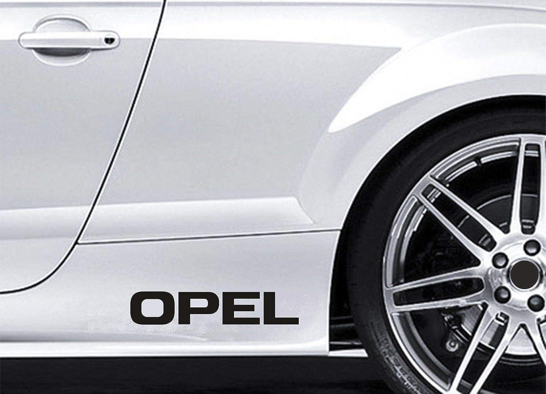 UUSticker 2 Pegatinas Laterales para Faldas de Coche Opel Premium: Amazon.es: Coche y moto
