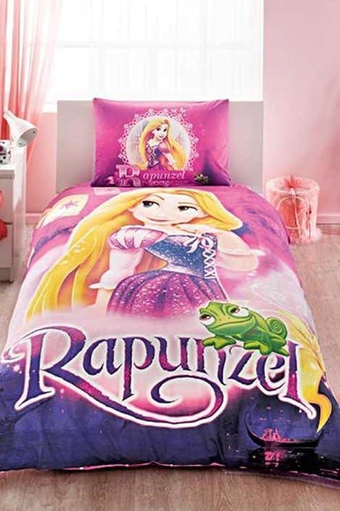 Original Juego de Funda de Edredón, diseño de Disney Rapunzel ...