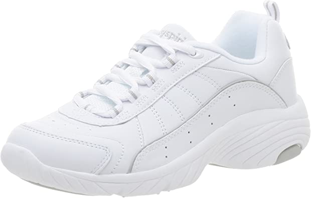 easy spirit leather sneakers