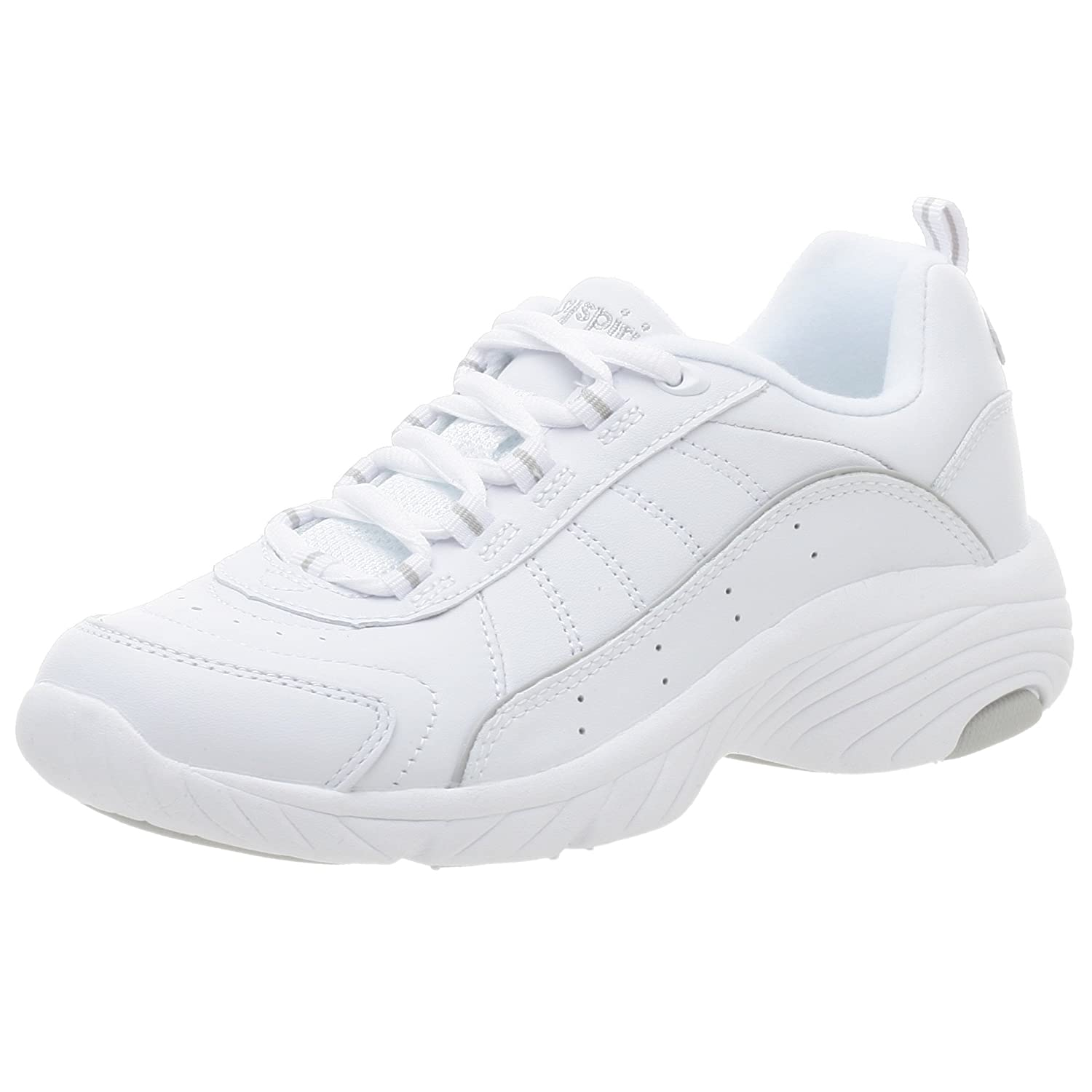 Easy Spirit Women's Punter Athletic Shoe B000Q918LU 8.5 N|White/Light Grey