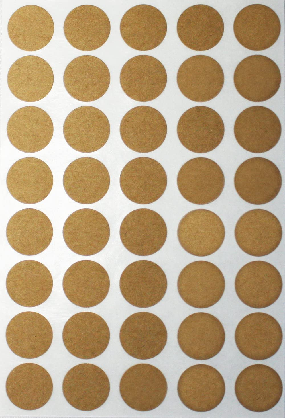 1000 Pack Royal Green White dot Stickers Labels Round in 19mm