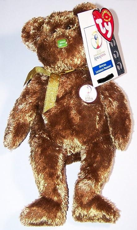 Amazon.com  TY Beanie Baby - CHAMPION the FIFA Bear ( Saudi Arabia ... 01a8dd5881f