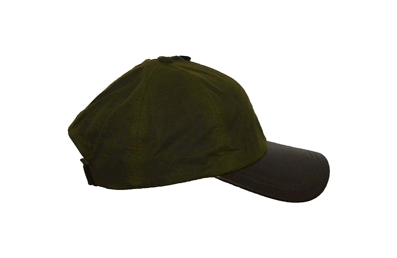 8d417f7b467 Walker   Hawkes - Uni-Sex Wax Baseball Cap Waxed Cotton Leather Peak - One  larger image