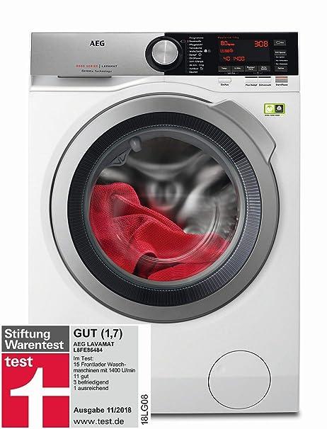 AEG L8FE86484 Waschmaschine 1400 U Min 80 Kg OkoMix