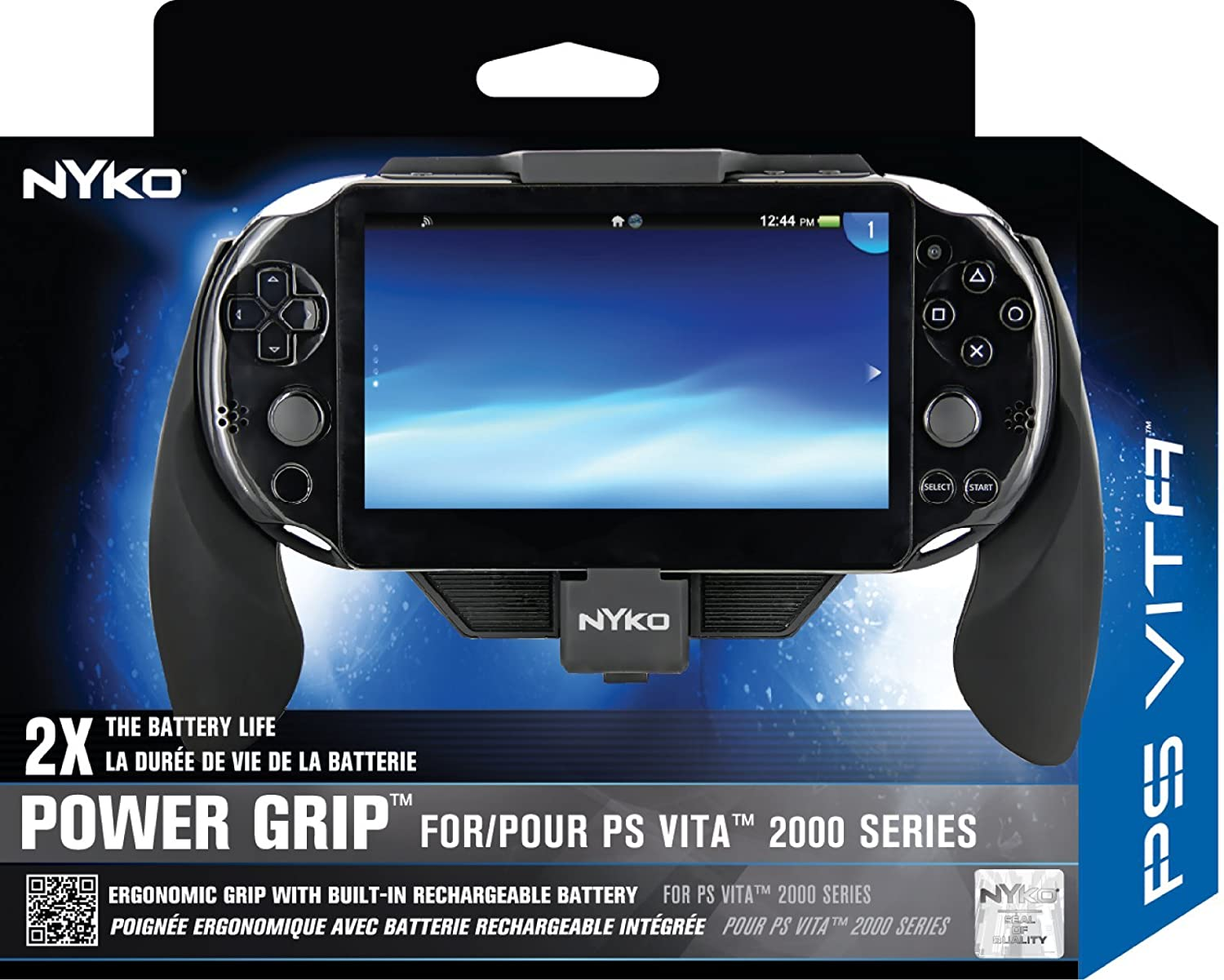 Nyko Power Grip for PS VITA Slim (2000 Series): Amazon.es ...
