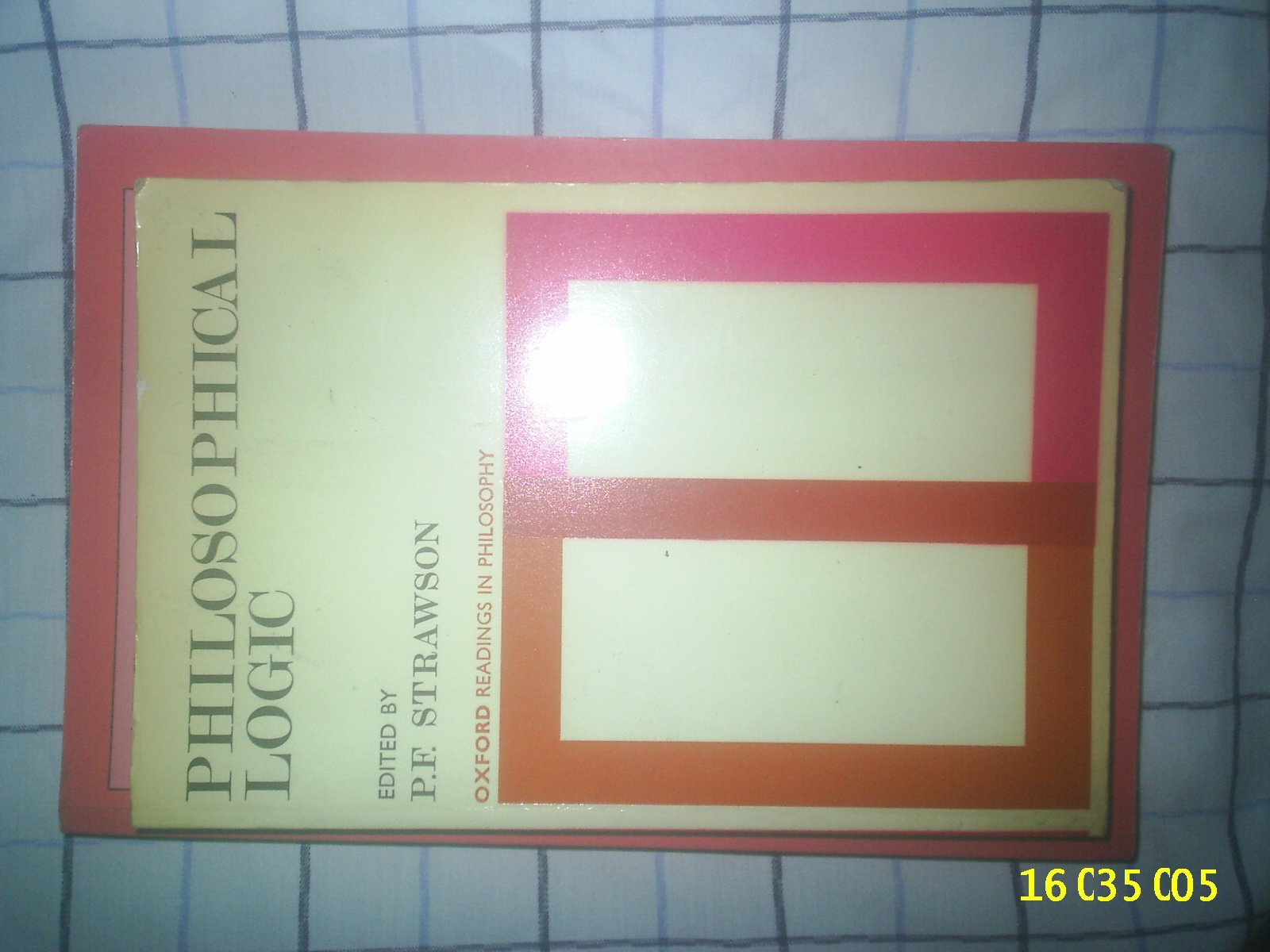 Philosophical Logic (Oxford Readings in Philosophy) by Brand: Oxford University Press, USA