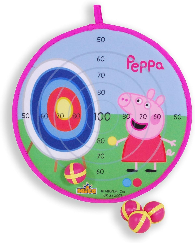 Peppa Pig - Diana de Velcro (Saica Toys 9130): Amazon.es: Juguetes ...