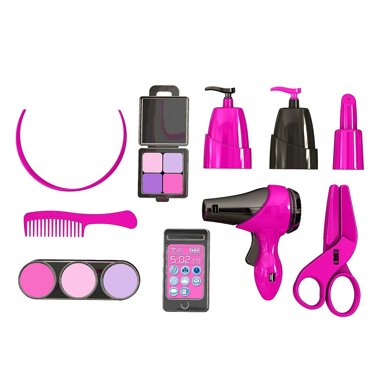 Amazon.com: American Plastic Toys Deluxe Beauty Salon Playset: Toys ...