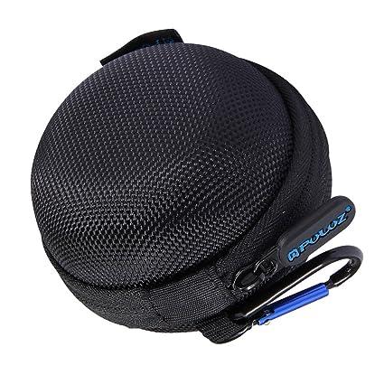 23e4485a3034 MonkeyJack Portable Mini Round Bag Storage Hard Case Organizer Box for  GoPro Hero 5 Session 4 Session  Amazon.ca  Cell Phones   Accessories