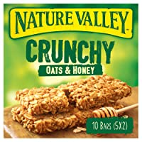 Nature Valley Crunchy Oats & Honey Cereal Bars 42g (Pack of 5 bars)