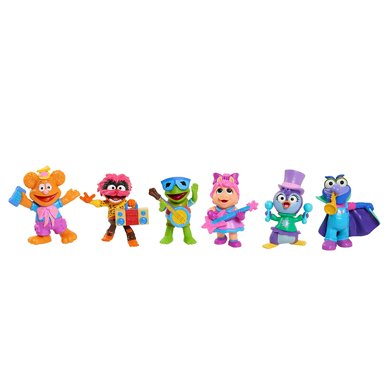 6 Pack Muppets Babies Playroom Figure Set