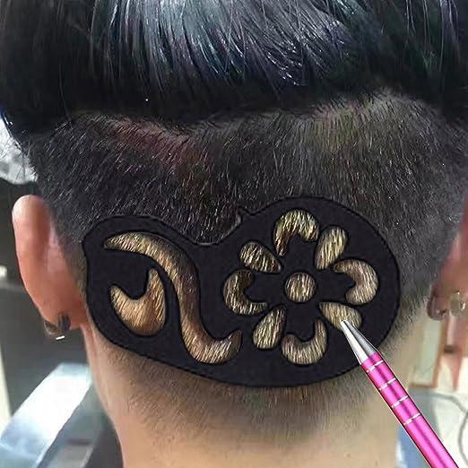Vococal® 25 unids Multi-formas Del Tatuaje Del Pelo Del Pelo ...