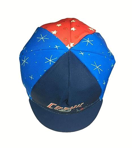 Sergio Mora /'Cosmic Riders/' Cinelli Cycling Cap Blue