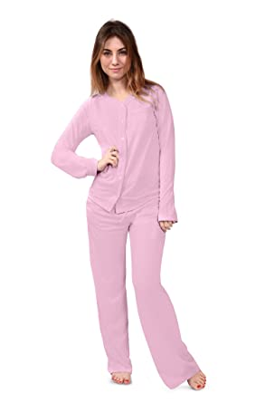 Women's Pajama Sleep Set Bamboo Pajamas (Natures Bliss) Eco ...