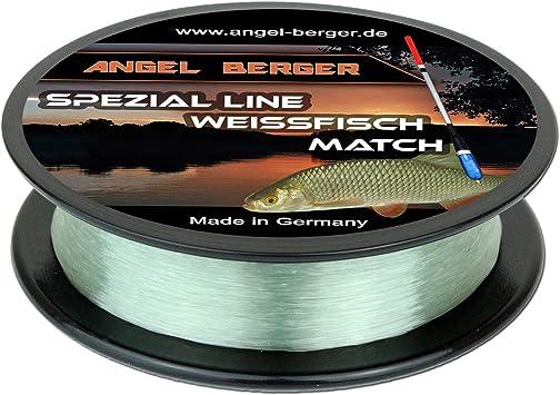 Hecht Forelle Weissfisch Karpfen Zander Dorsch Angel-Berger Spezial Line Angelschnur Zielfischschnur Aal