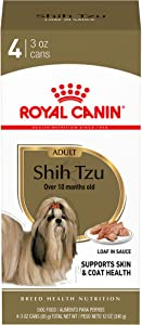 Royal Canin Shih Tzu Adult Breed Specific Wet Dog Food, 4-3 oz cans