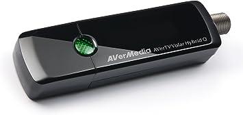 AVerMedia AVerTV Volar Hybrid Q, USB TV Tuner, ATSC, Clear QAM HDTV & FM Radio, Supports Windows & Android TV 7.0 or above (H837)