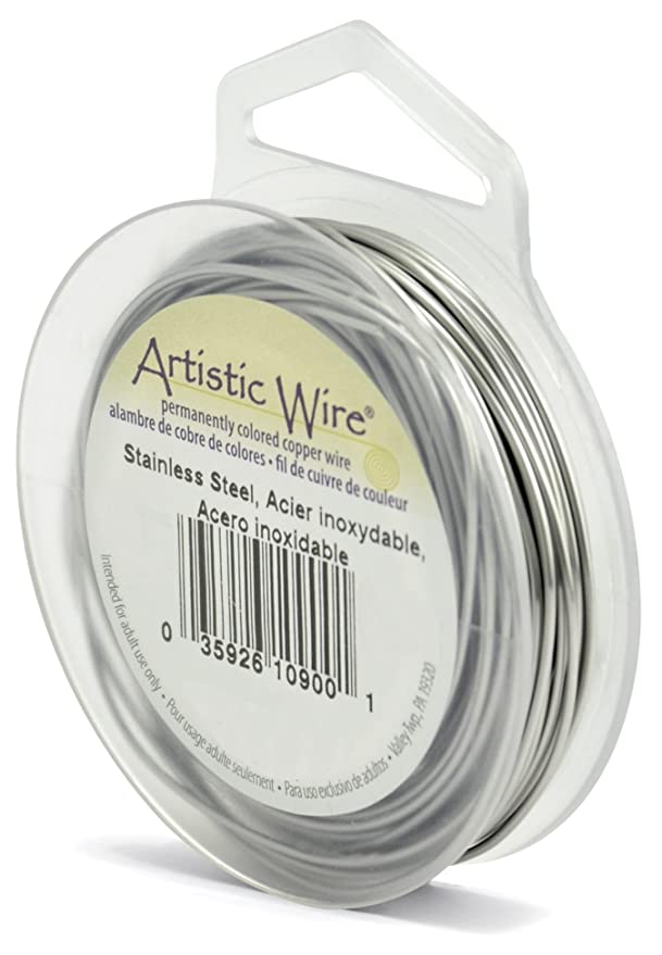 Amazon.com: Beadalon. Artistic Wire calibre 20, acero ...
