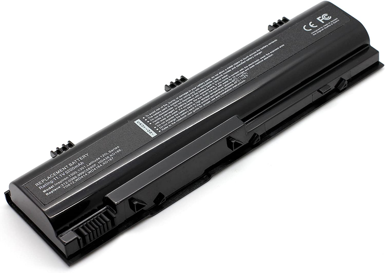 7XINbox 11.1V 5200mAh Li-ion Replacement Laptop Battery for Dell Inspiron 1300 B120 B130 Latitude 120L 312-0365 312-0366 312-0416 999C5890F HD438 KD186 TD429 TD611 TD612 WD414 WD416 XD184 XD187