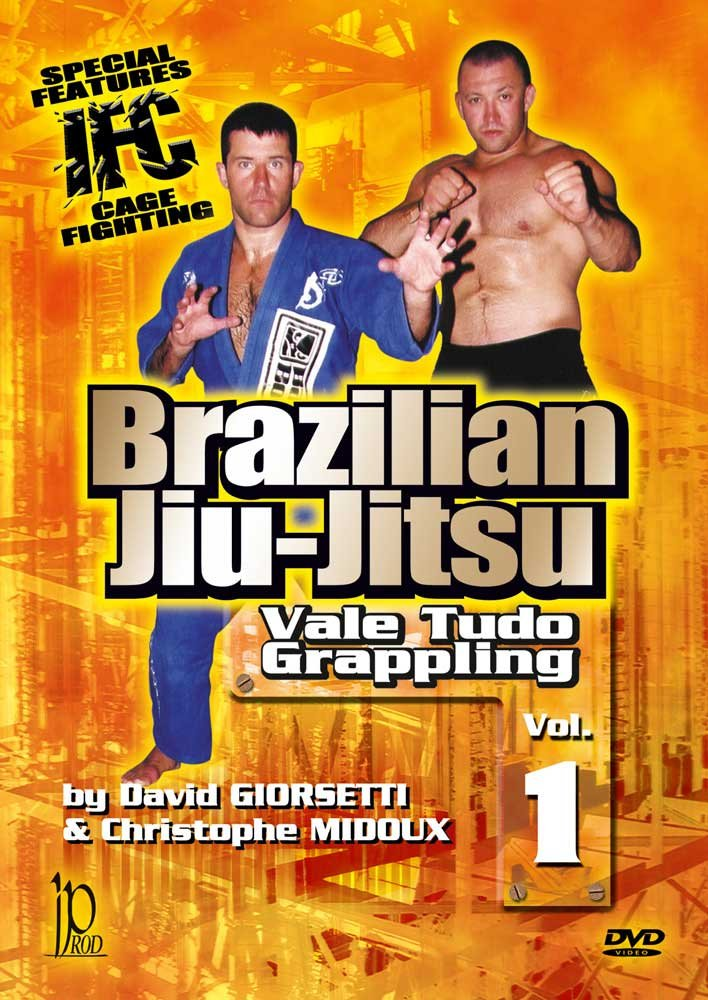 DVD : Brazilian Jiu-jitsu: Vale Tudo Grappling: Volume 1 (DVD)
