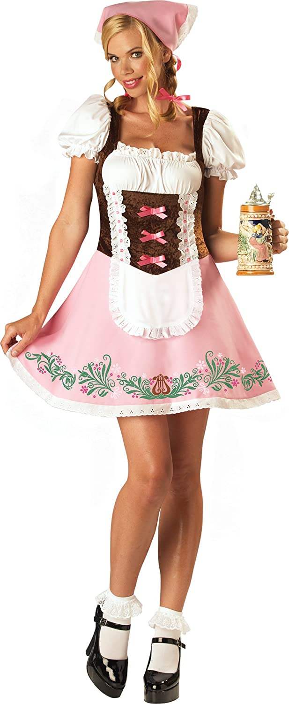 In Character Costumes - Disfraz de folklore para mujer, talla L ...