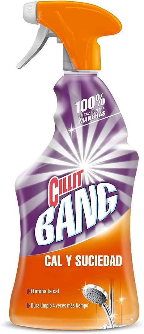 Cillit Bang Cal & Suciedad Limpiador Spray - 750 ml: Amazon.es ...