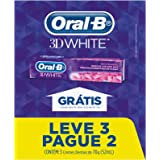 Creme Dental Oral-B 3D White - 70G Leve 3 Pague 2, Oral-B