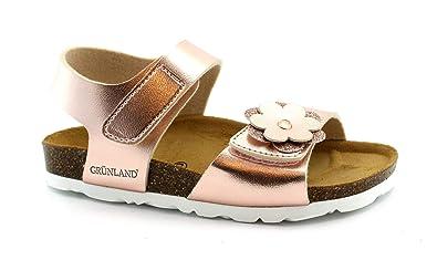 Grunland Luce Petite Fille Sb0394 Poudre Laminée Sandale En 2431 n0NwOPkX8Z