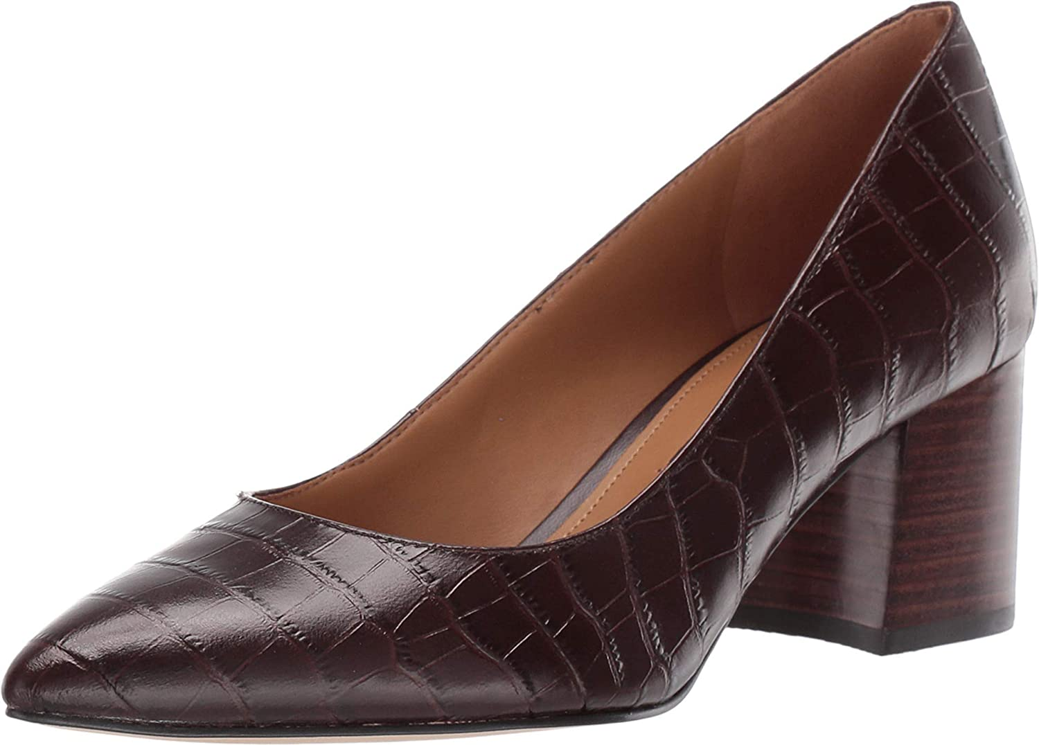NINE WEST Tves Pump Dark Brown