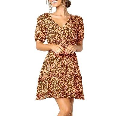 46c852a258d A.M.Feker Dress V-Neck Cotton Retro Sleeves Long Print Long Sleeve high and  Low Hem Dress White