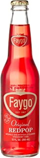 product image for Faygo RED POP FROM THE MOTOR CITY DETROIT, MICHIGAN!, 12-Ounce Glass Bottles with Organic Paint (Pack of 12)