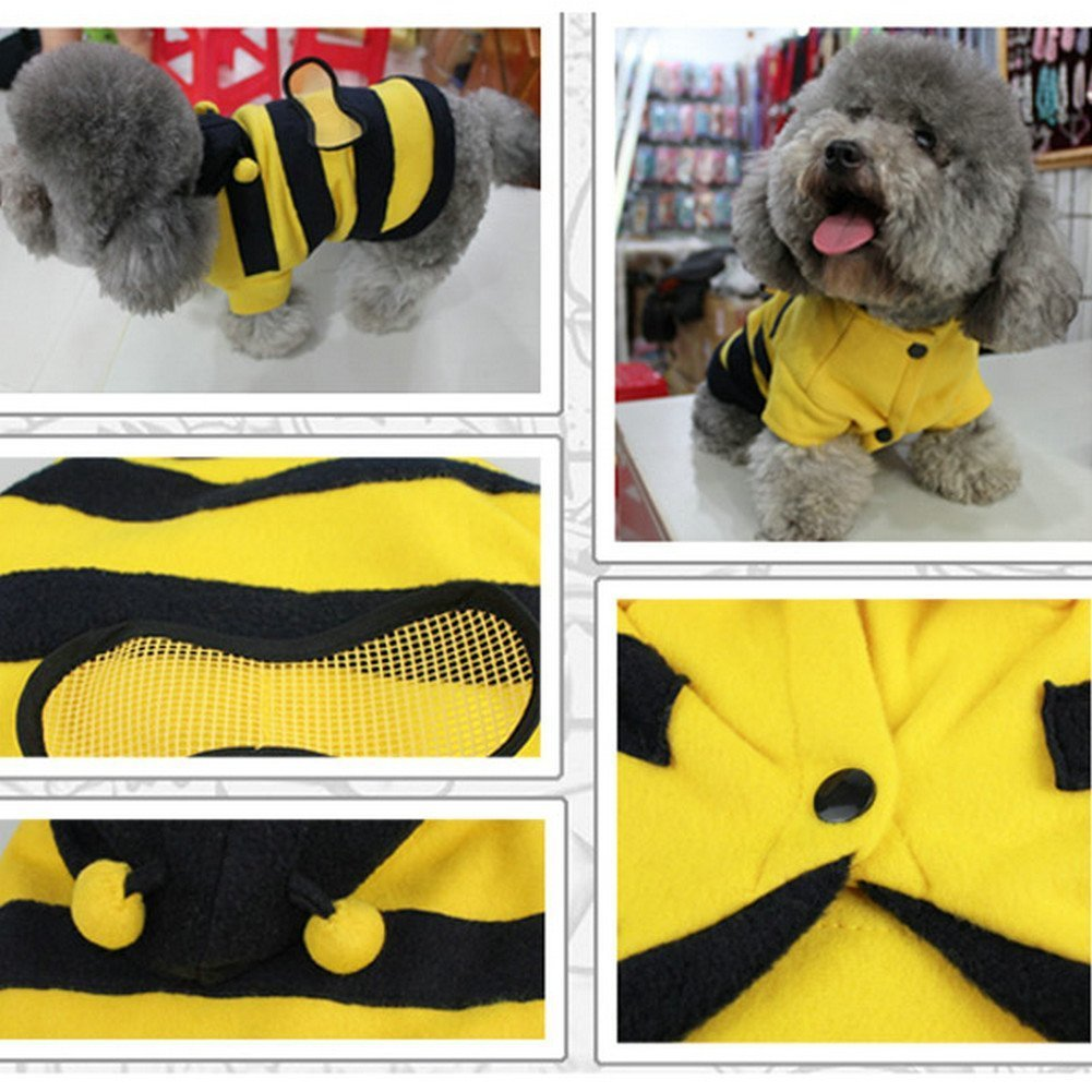 Size S Pet Cotton Blend Sleeveless Vest TheBigThumb Dog Cat Clothes Puppy Vest Christmas T-shirt Apparel for Pet Gift