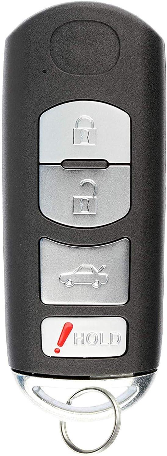 Keyless Remote Smart Key Fob for 2009 2010 2011 2012 2013 MAZDA 6 KR55WK49383