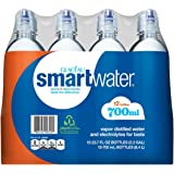 Glaceau Smart Water Water with Sports Cap (700ML bottles, 12 pk.)