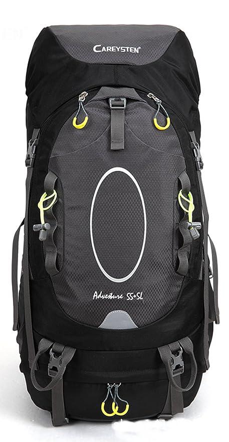 S de kiven 55 + 5L Mochila ultraligero resistente al agua senderismo funda para montañismo,