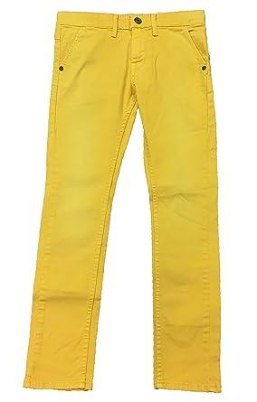 f78e74794a65 Pepe Jeans Pantalon - Garçon jaune Jaune moutarde 8 ans  Amazon.fr ...