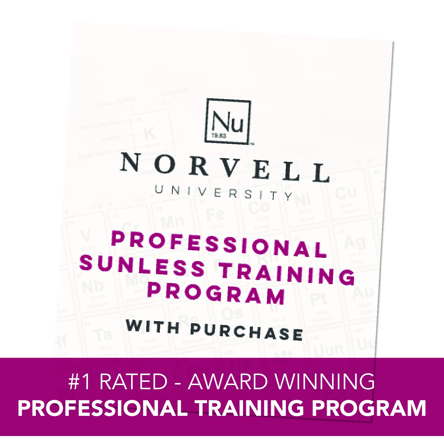 Norvell Sunless Kit - M1000 Mobile HVLP Spray Tan Airbrush Machine + 8 oz Tanning Solutions in Clear Plus, Venetian and Dark + Norvell Training Program (Retail Value $490) by Norvell (Image #5)