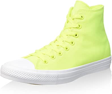 Converse Unisex Chuck Taylor All Star II Hi Top Sneaker (9 D(M) US, Volt)