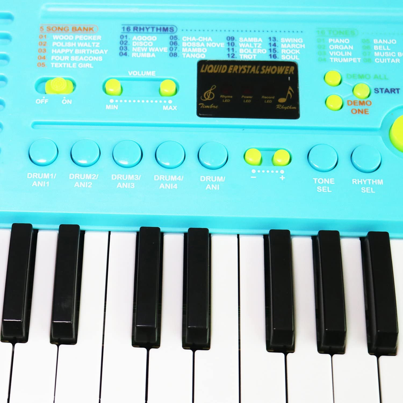 Piano para niños, Sanmersen 37 teclas Gran teclado multifunción de ...