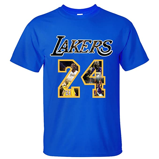 YYAO Mens Kobe Bryant Los Angeles Lakers The Black Mamba Cotton T Shirt: Amazon.es: Ropa y accesorios