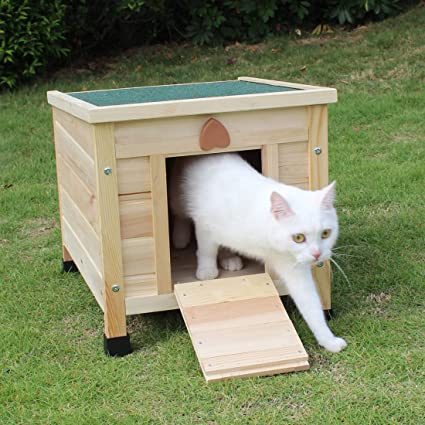 ROCKEVER Cat House Outside, Weatherproof Rabbit Hutch Small, Wooden on fancy cat house plans, furniture building plans, kitty house plans, cat feeding station plans, bear house plans, rabbit house plans, wood cat house plans, heated cat house plans, squirrel house plans, outdoor cat house plans, wooden cat house plans, raccoon house plans, dog house plans, cat tree house plans, cat enclosure plans, mallard house plans, winter cat house plans, cat shelter plans, homesteaders house plans, pet cat house plans,