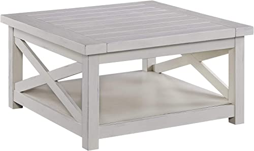 Seaside Lodge White Coffee Table