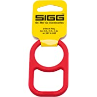 SIGG 8475.5 D-Neck Ring for Drinking Bottle, Red