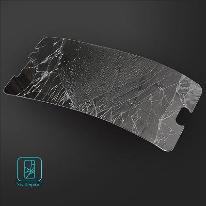 Protector de Pantalla LG V10, Invisible Defender Glass [MAX HD CLARIDAD] LG V10 vidrio protector de Pantalla Garantía de por vida Perfect Touch de precisión ...