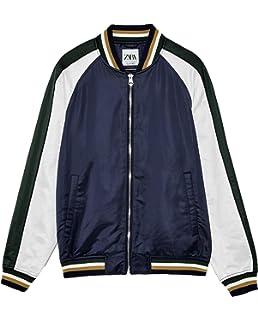 cc5ed750 Zara Men's Quilted Sweatshirt 4087/427 Grey: Amazon.co.uk: Clothing