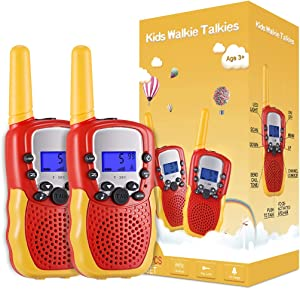 Selieve Toys for 4-14 Year Old Children's, Walkie Talkies for Kids 22 Channels 2 Way Radio Toy with Backlit LCD Flashlight, 3 Miles Range for Outside, Camping, Hiking