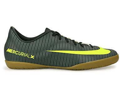 11c4f1b3f5 Nike Kids MercurialX Victory VI CR7 Indoor Soccer Shoes  Seaweed/Volt/Hasta/White