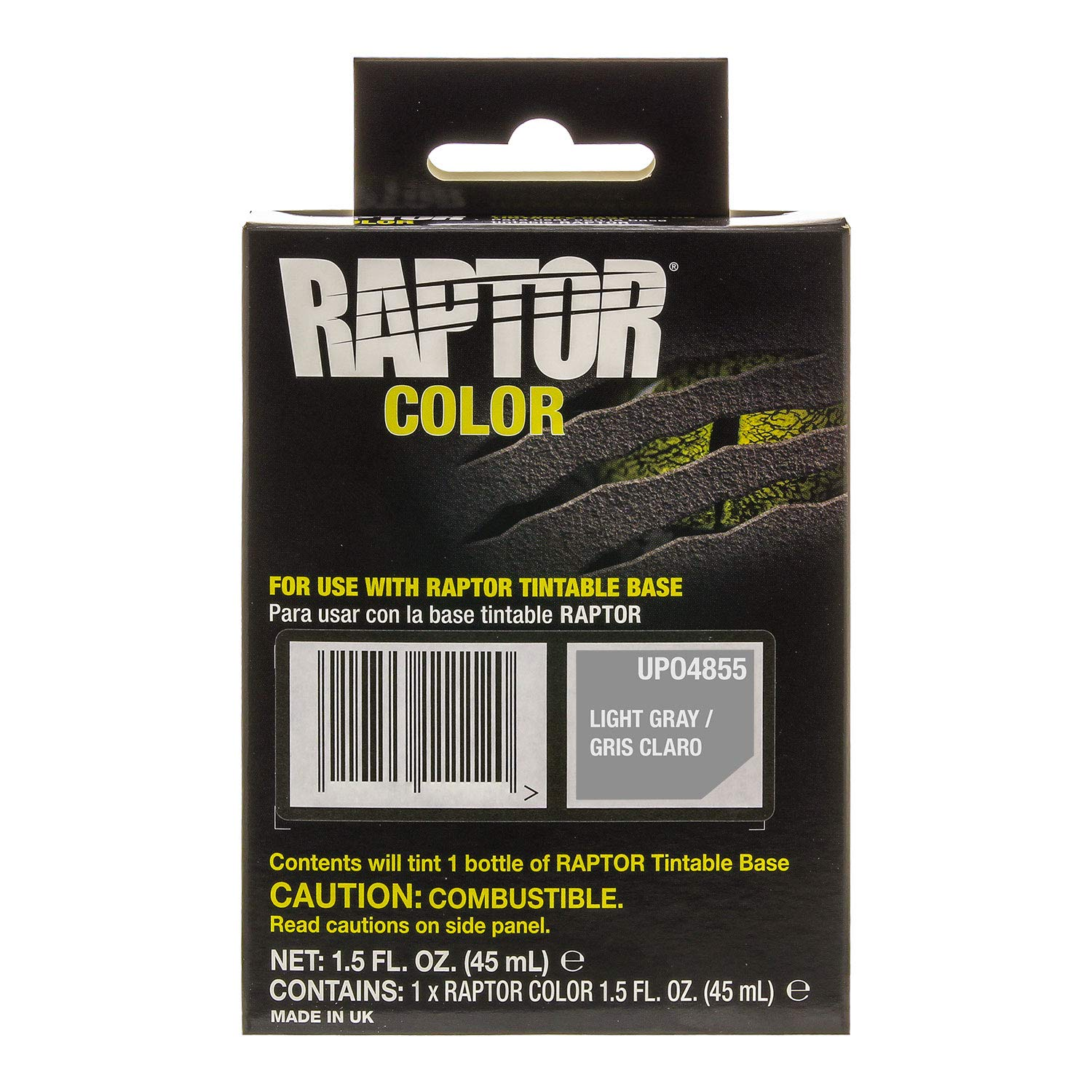 U-Pol Raptor Color Tint Pouches - Light Gray
